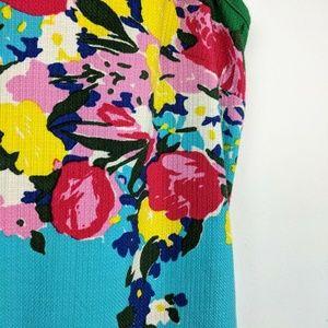 Talbots Dresses - Talbots Multi Color Spring Floral Print Dress 10